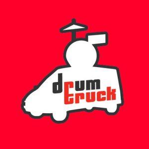 drum truck red